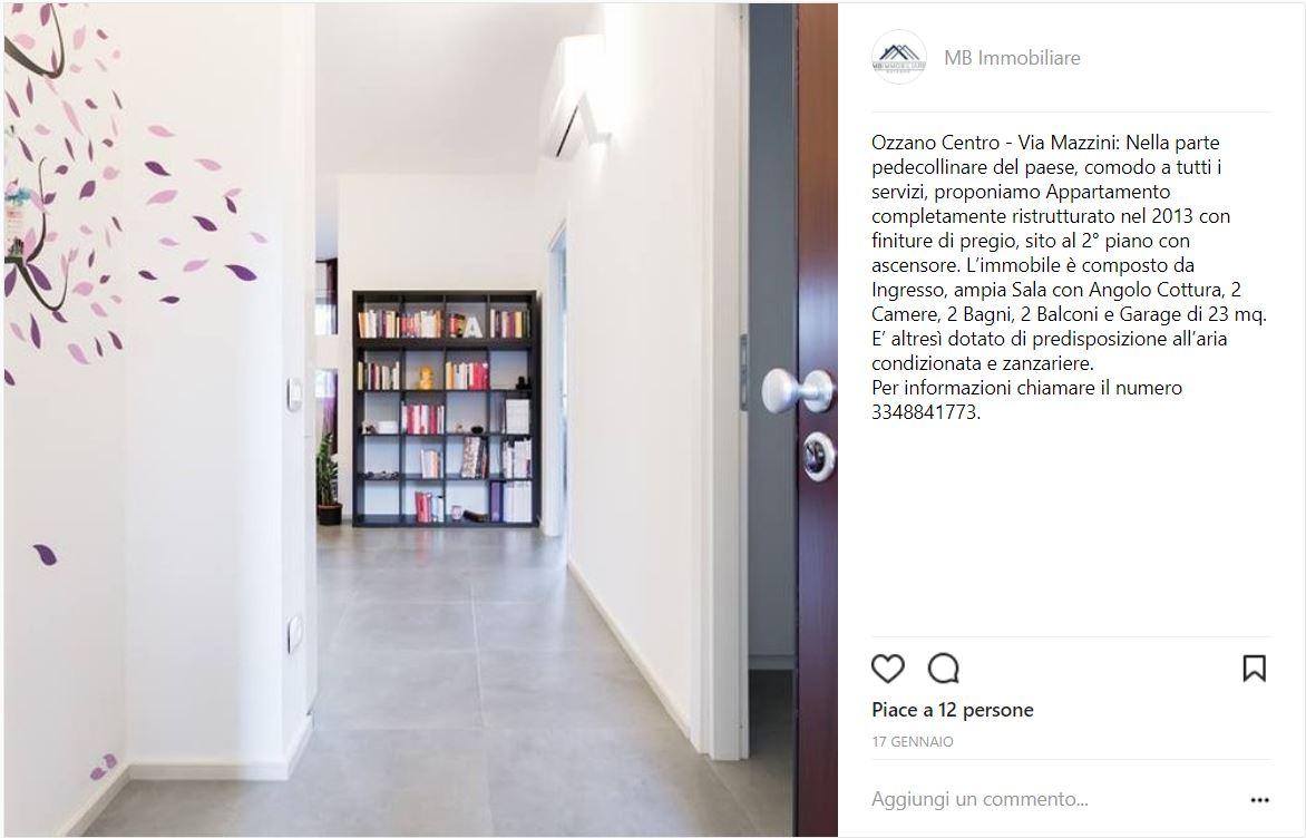 Vendere appartamento con Instagram - esperimento inserzione