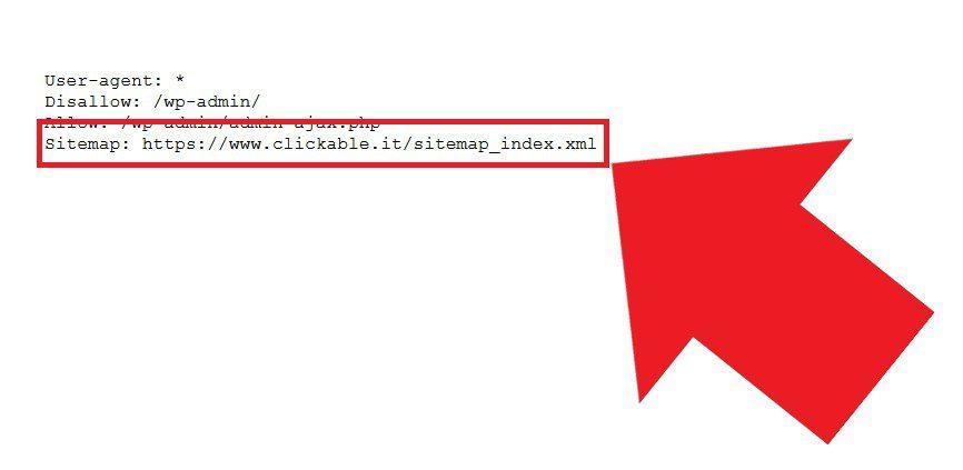 Includere la sitemap XML nel robots.txt: un valido aiuto per i bot, che così possono scansionare meglio il sito