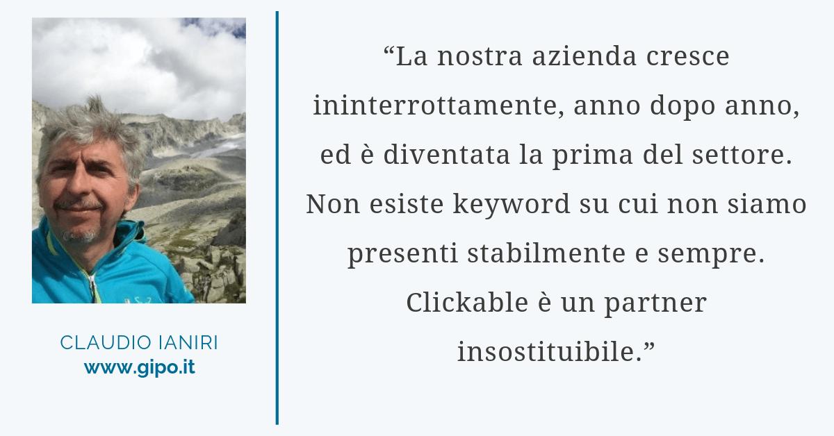 Citazione di Claudio Ianiri