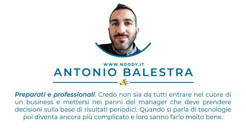 Testimonianza Antonio Balestra - Noody WIFI