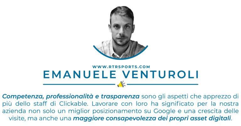 Testimonianza Emanuele Venturoli - RTRSports