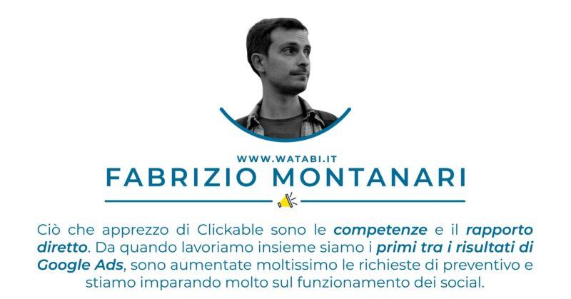 Testimonianza Fabrizio Montanari - Watabi