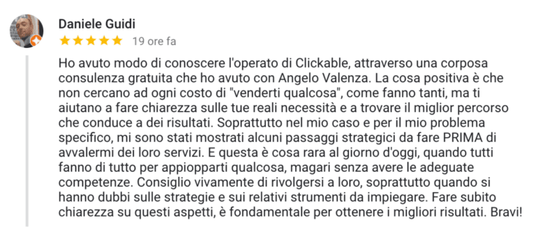 clickable opinioni